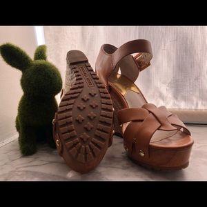Michael Kors sandals with platform